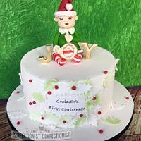 Croíadh's First Christmas (cake)
