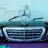 Mercedes Benz Logo cake - our vision)