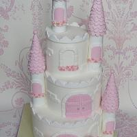 My First Princess Castle Cake by Let's Eat Cake