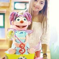 Abby Cadabby Puppet Cake