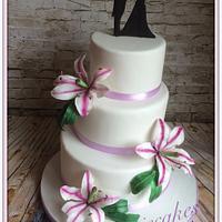 Weddingcake lily