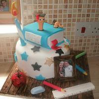 My Husband's Graduation Cake