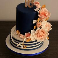 Nautical sweet 16