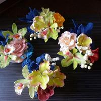 sugarpaste flowers for Mother's day by marta