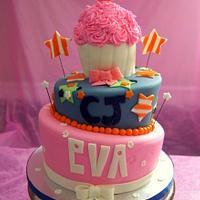 3 birthdays cake! by Sylvia Cake