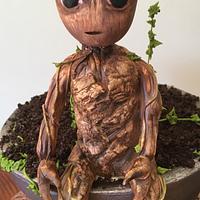 Baby Groot in Pot