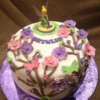Fairy / Tinkerbell Birthday Cake