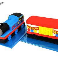 Thomas the Tank Engine (Thomas the Train Cake)