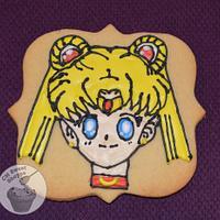 Sailor Moon Sugar Cookie