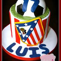 Athletico Madrid Cake