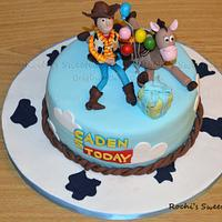 Toy Story - Woody & Bullseye birthday cake