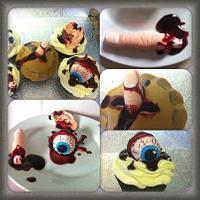 Anatomy cupcakes
