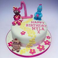 In the Night Garden Cake by Claire Lawrence