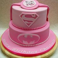 Pink Superhero