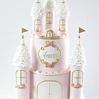 Regal Princess Castle Cake