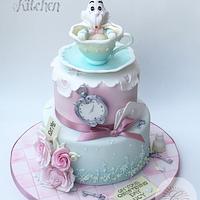 Alice Christening Cake by Emma Lake - Cut The Cake Kitchen