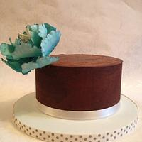 Tiffany fantasy peony cake