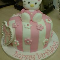 Stripey Hello Kitty