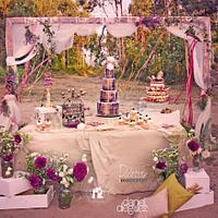 Love is in the air - Sweet table for Tamara & Pablo