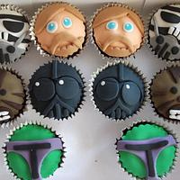 Stormtrooper with matching Cupcakes by muffintops