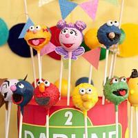 Sesame Street Cake Pops by Steph Wood