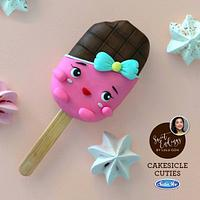 Shopkins Cheeky Chocolate cakesicle