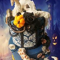 OCTOPUS HALLOWEEN CAKE