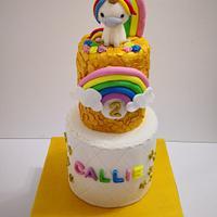 birthday cake by Ruth - Gatoandcake