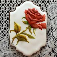 My Red Rose cookie.