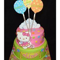 Hello Kitty First Birthday