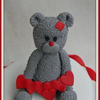 Valentine Days Cake by jessicastartor