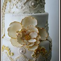 Cream, Ivory & Gold Baroque