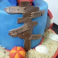 Beach Scenes by Cake Creations by Trish