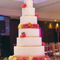 Simrun's wedding cake