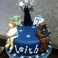 Starwars Cake