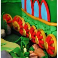 Dinosaur Train Cake
