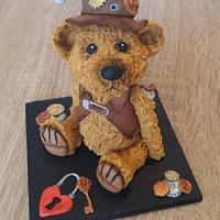 steampunk bear 💜