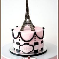 Oohh La La Paris Themed Cake