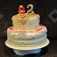 Elmo Cake  by Cake Your Dreams Come True ....  Dream Cakes By Connie and Kimmy
