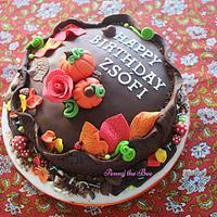 Autumn Bday Cake