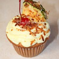 Pina Colada Cupcakes by Candy Whiting