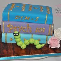 Bookworm Cake