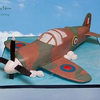 My first Aeroplane by Cakes by Nina Camberley