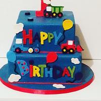 Birthday cake:)