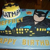 Batman cake Enchanted Cakes on FB