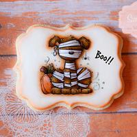 Doggy Halloween Cookie