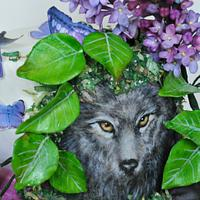 A Wolf in the Garden - World Lupus Day Collaboration