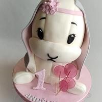 Effiki  bunny cake