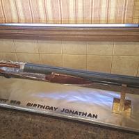 3-D Shotgun cake