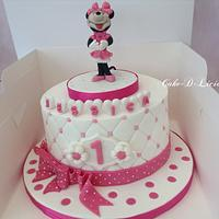 1st Birthday Cute Minnie mouse